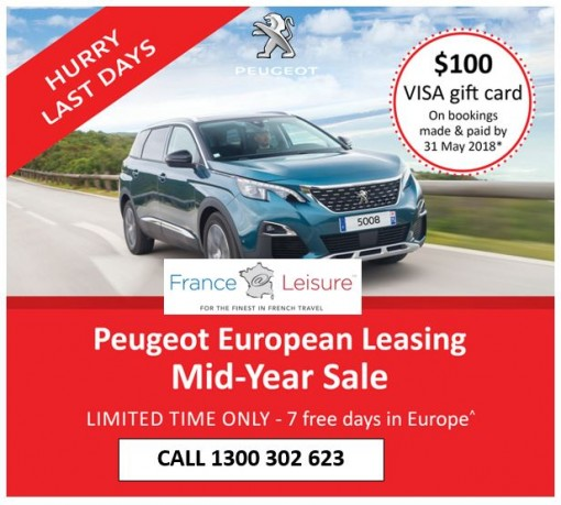 Peugeot Car leasing » France At Leisure